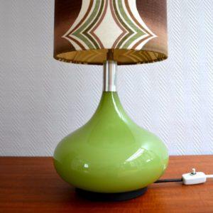 Lampe d'ambiance 1970 vintage Doria 23