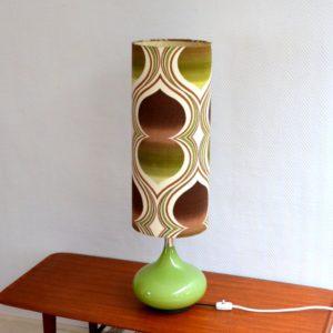 Lampe d'ambiance 1970 vintage Doria 26