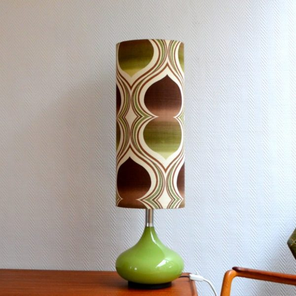 Superbe lampe d'ambiance par Doria 1970s