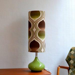 Lampe d'ambiance 1970 vintage Doria 7
