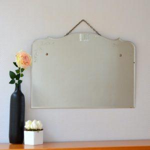 Miroir art déco vintage 11