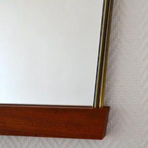 Miroir scandinave teck 1960 vintage 8