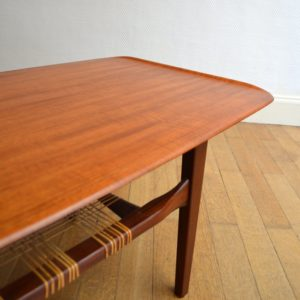 Table de salon scandinave 1960 vintage 18