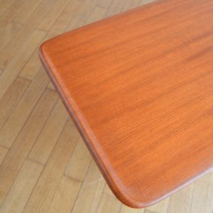 Table de salon scandinave 1960 vintage 25