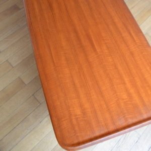 Table de salon scandinave 1960 vintage 6