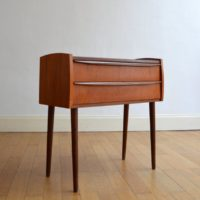 Petite commode scandinave teck 1960s