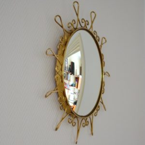 Miroir soleil : Bombé vintage 4