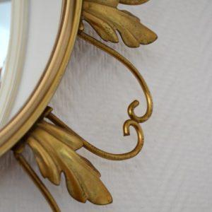 Miroir soleil oeil de sorcière 1950 vintage 7