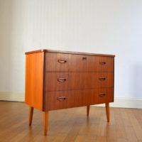 Commode scandinave teck 1960s