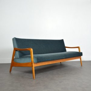 daybed scandinave 1960 vintage 12