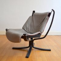 fauteuil Falcon par Sigurd Ressell 1960 vintage 3