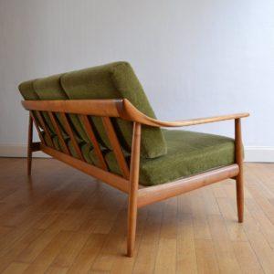 Canapé Wilhelm Knoll 1960 vintage 18