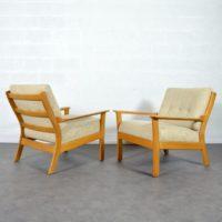 Paire de fauteuils scandinave 1960s