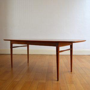 Table basse scandinave 1960 vintage 10