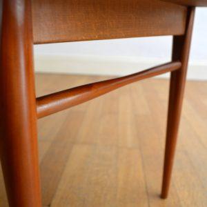 Table basse scandinave 1960 vintage 13