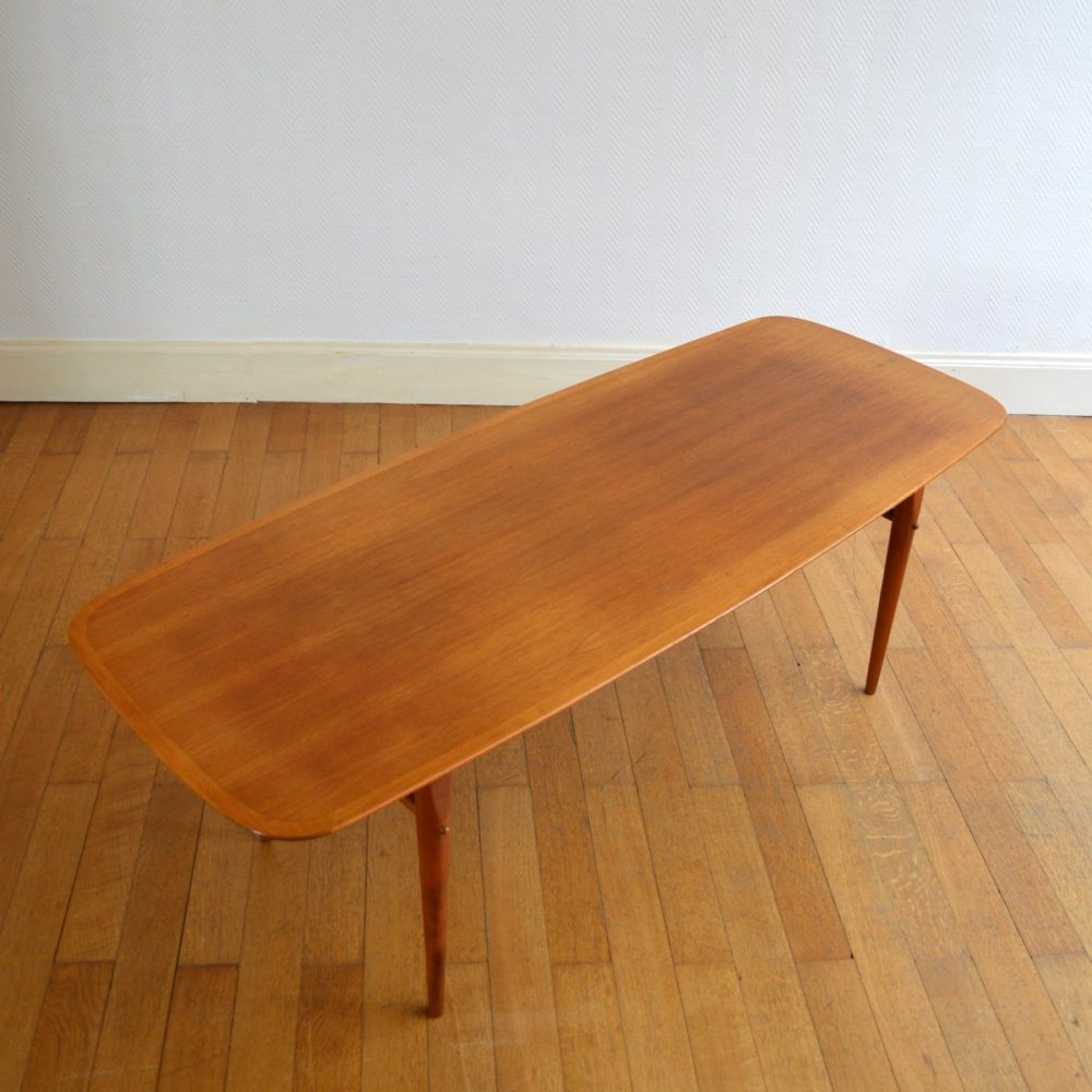 Table basse scandinave 1960s