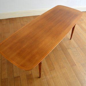 Table basse scandinave 1960 vintage 20