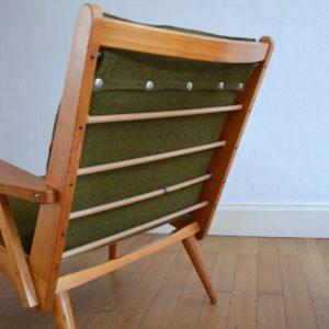 Paire de fauteuils Rob Parry 1960s vintage 19