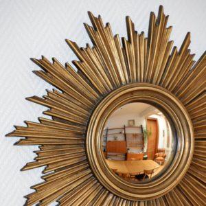 Grand miroir soleil vintage 14