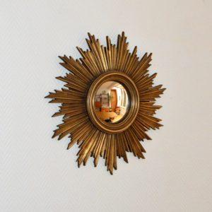 Grand miroir soleil vintage 2