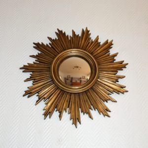 Grand miroir soleil vintage 6