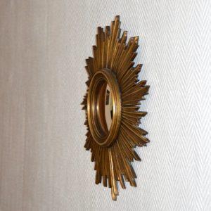 Grand miroir soleil vintage 8
