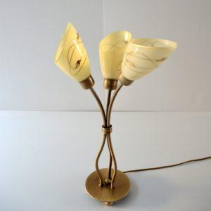 Lampe de table 1950 vintage 19