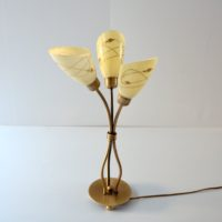 Superbe lampe de table vintage 1950s