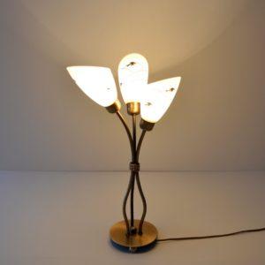Lampe de table 1950 vintage 26