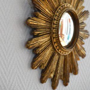 Petit miroir soleil vintage 10