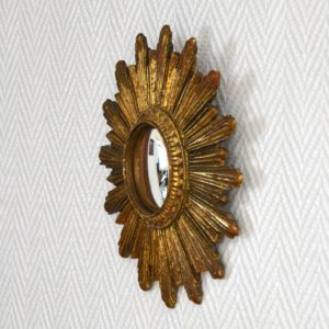 Petit miroir soleil vintage 5