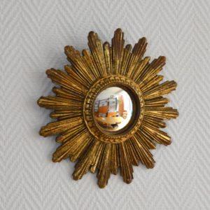 Petit miroir soleil vintage 6