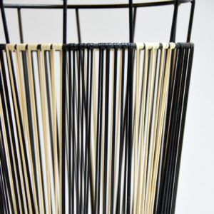 Porte parapluie scoubidou 1950 vintage 14
