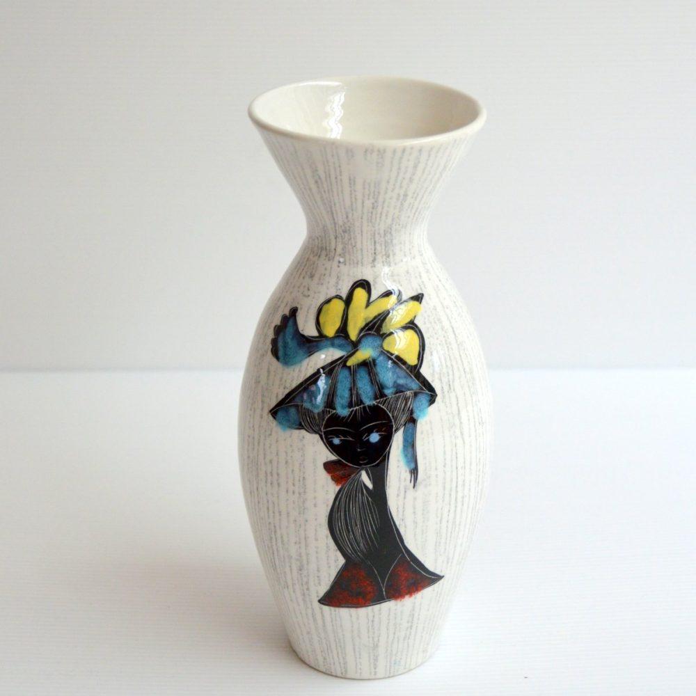 Vase en céramique » La Settimello » Italie 1950s