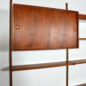 Wall units Kai Kristiansen teck 1960 vintage 21