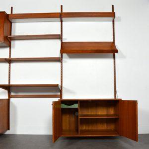 Wall units Kai Kristiansen teck 1960 vintage 37