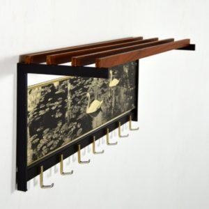 Porte manteaux cygnes vintage 14