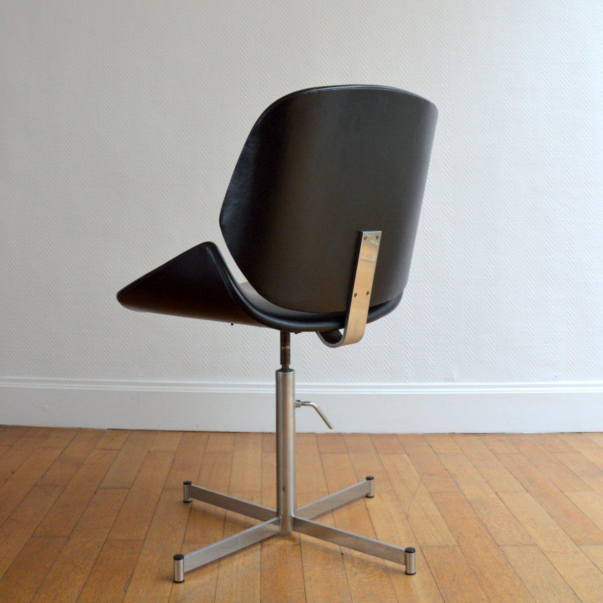 Pivotante 1960s Design Fauteuil Bureau Chaise De zVpqSMjLUG