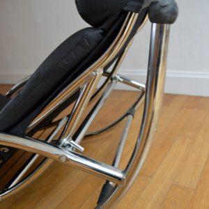 Chaise longue : à bascule 1970 vintage 50