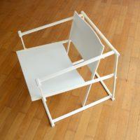 Fauteuil Cube FM62 par Radboud van Beekun pour Pastoe Design 1980s
