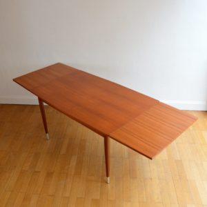 Table à manger et 4 chaises 1960 vintage 14