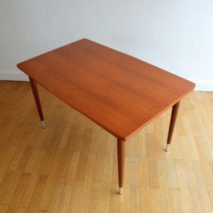 Table à manger et 4 chaises 1960 vintage 20