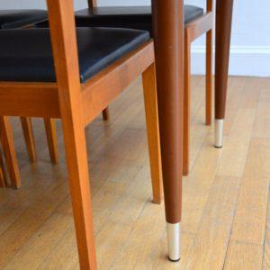 Table à manger et 4 chaises 1960 vintage 4