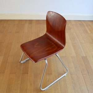 Chaise Pagholz 1960 vintage 7