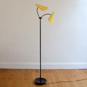 Lampadaire : Floor lamp 1950 vintage 16