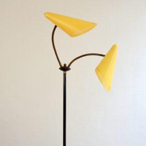 Lampadaire : Floor lamp 1950 vintage 18