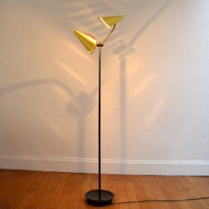 Lampadaire : Floor lamp 1950 vintage 23