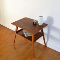 table d'appoint pieds compas vintage 6