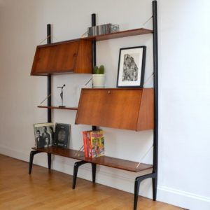 Wall units Louis Van Teeffelen 1950 vintage 5