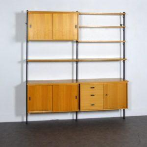 Bibliothèque Olof Pira 1960 vintage 1